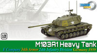 M103A1 Heavy Tank, E Company 34th Armor 24th Infantry Division Germany 1959