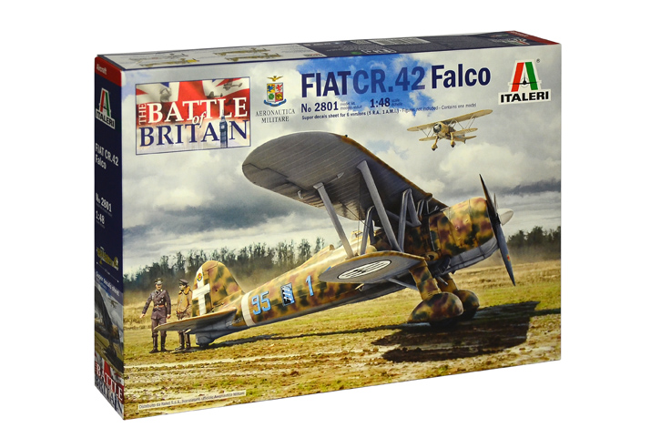 Fiat CR.42 Falco - The Battle of Britain - Image 1