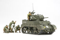 US Light Tank M5A1 - Pursuit Operation w/4 Figures - Image 1