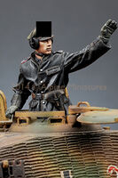 SS Panzer Commander Set (2 figs)