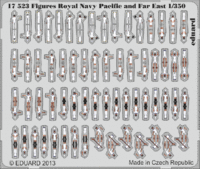 Figures Royal Navy Pacific and Far East  1/350 - Image 1