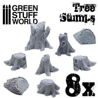 Tree Stumps Resin Set - Image 1