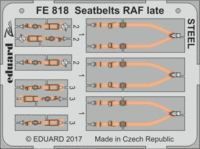 Seatbelts RAF late STEEL - Image 1