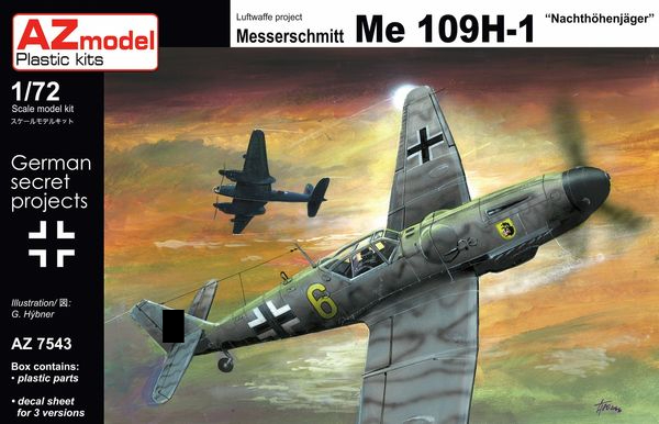 Bf 109H-1 Nachthöhenjager - Image 1