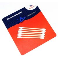 Cotton Swab triang/round 100 szt - Image 1
