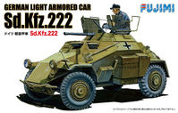 German Light Armored Car Sd.Kfz.222