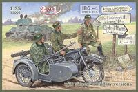 BMW R12 with sidecar Military - 2 in 1 - Image 1