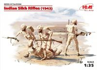 Indian Sikh Rifles (1942) (4 figurki)
