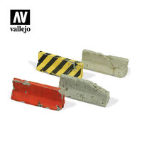Damaged Concrete Barriers - Image 1
