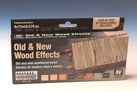 71187 Model Air - Old & New Wood Effects Set