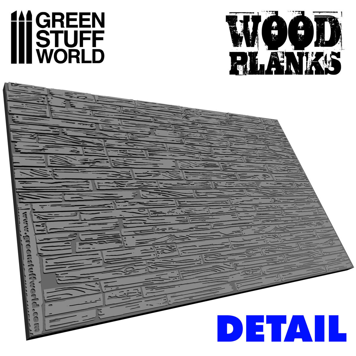 Wood Planks Rolling pin - Image 1