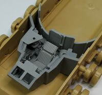 M1A2 Abrams driver set for Tamiya