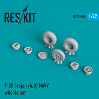 T-28 Trojan (A,B) NAVY wheels set