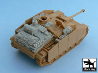 Sturmgeschütz III Ausf.G accessories set for Tamiya 32525, 13 resin parts
