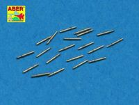 Set of 20 pcs 12,7 mm (0.5in) Browning barrels for US Navy ships