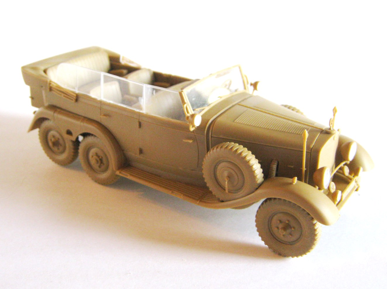 German Car With Passengers in 1:35 1939 ICM 35531 G4