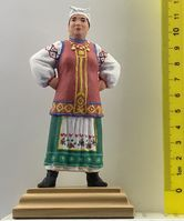 The wealthy Ukrainian woman in national costume var.2